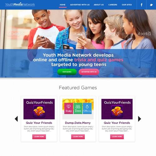 Popular Teen Site Looking for Re-Design!
