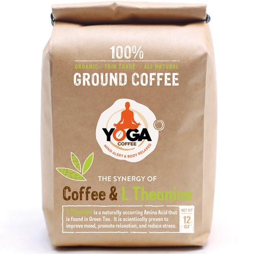 Craft Paper Ground Coffee