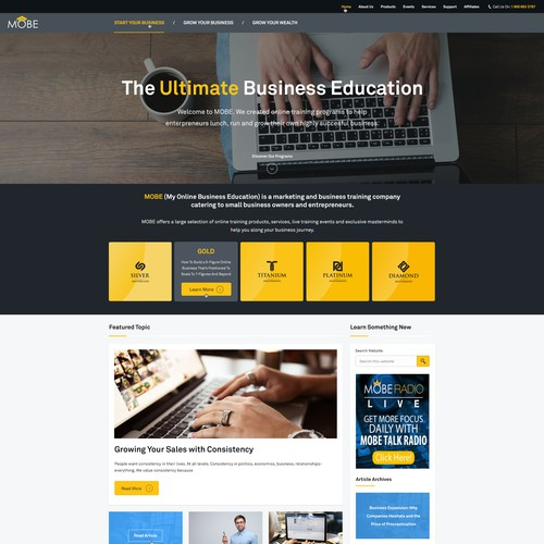 Mobe Business Education