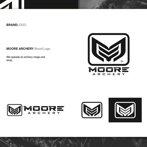 Logo design for Moore Archery