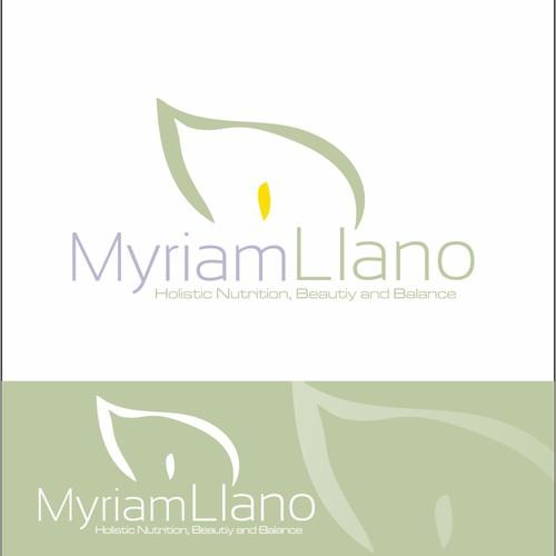 Create the next logo for Myriam Llano