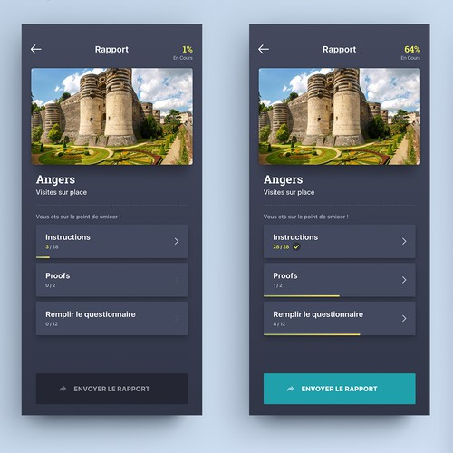 App design entry