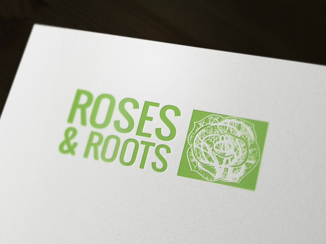 Help Roses & Roots with a new logo