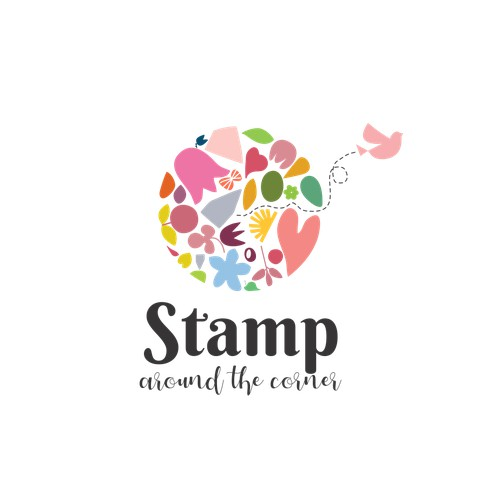 Logo for the company that sells stamps, paper, inks and crafting supplies