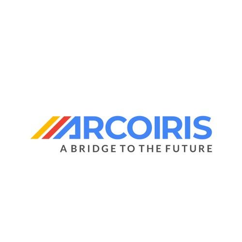 ARCOIRIS Company Logo. Company that develops blockchain.