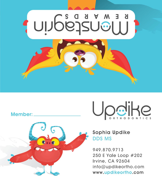 Updike Ortho Rewards Business Card