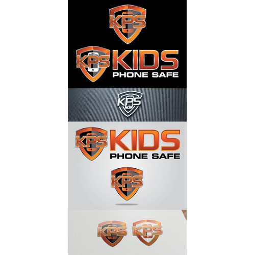 Kids Phone Safe shield logo