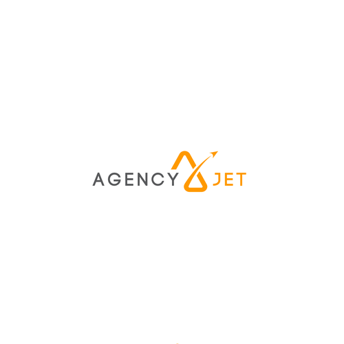 Agency Jet (AJ) logo