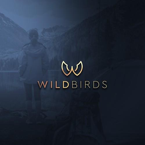 wildbird logo concept