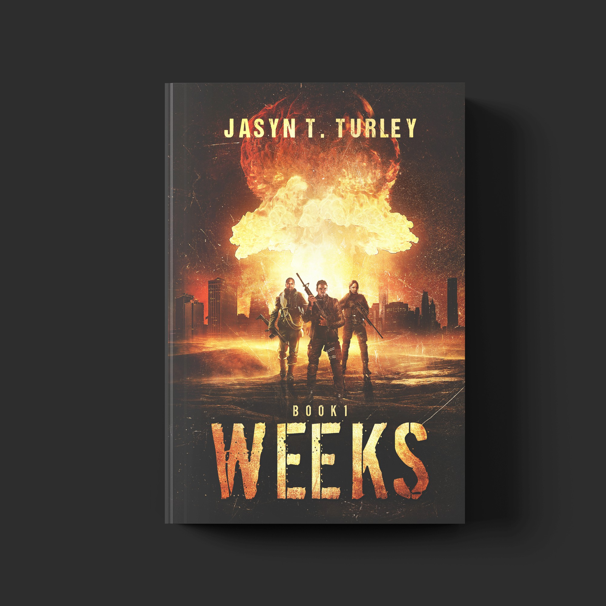 WEEKS Book One paperback/eBook contest.