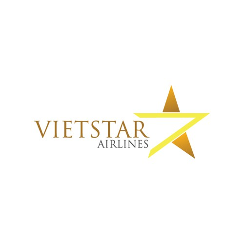 Create Vietstar Airlines' logo which will appear on our plane