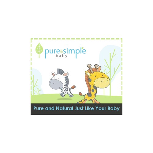 Help Pure and Simple Baby with a new banner ad