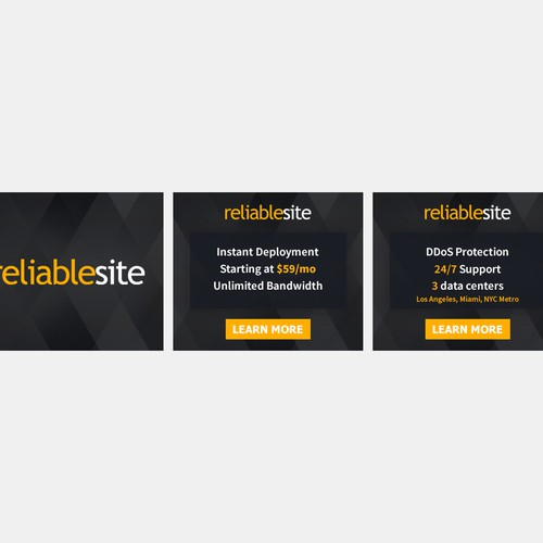 RELIABLESITE ANIMATED BANNER