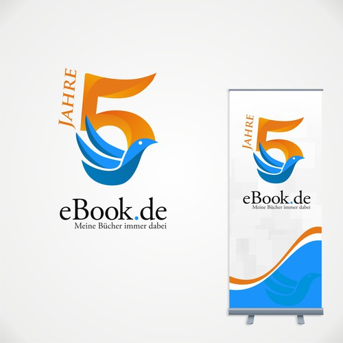 5 Jahre ebook.de Logo