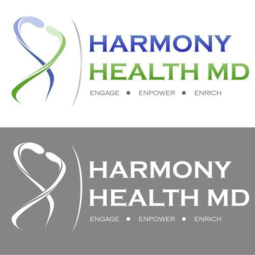 Create the next logo for Harmony Health MD