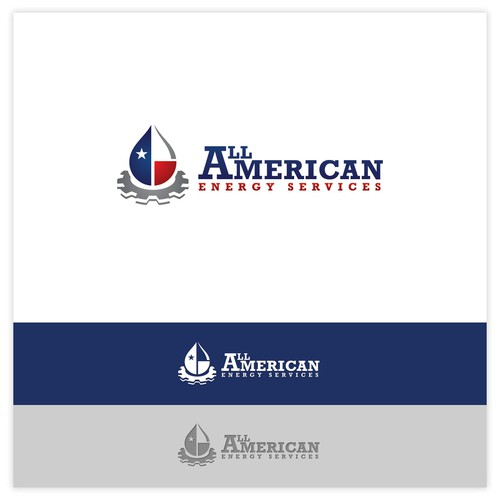 Logo Concept for All American Energy Services