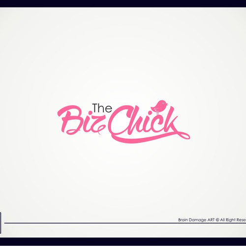 Create a fun, yet professional logo for The Biz Chick Blog.