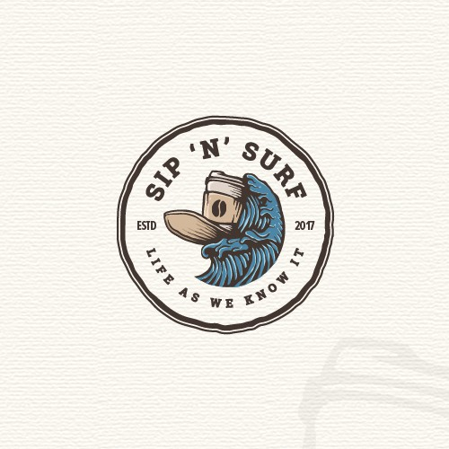 Vintage badge logo