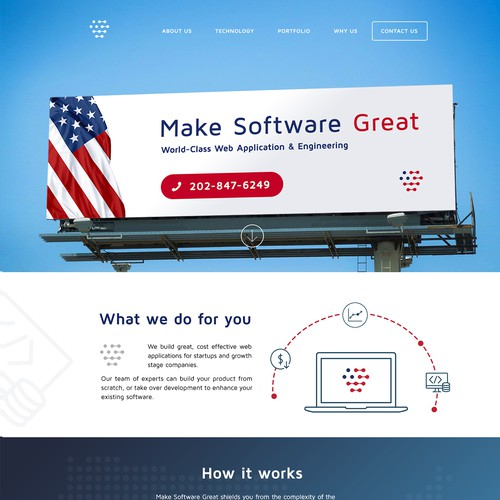 Web Design for Tech Start-up (Make Software Great)