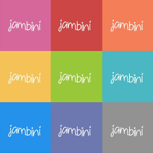 Logo design for Jambini baby products
