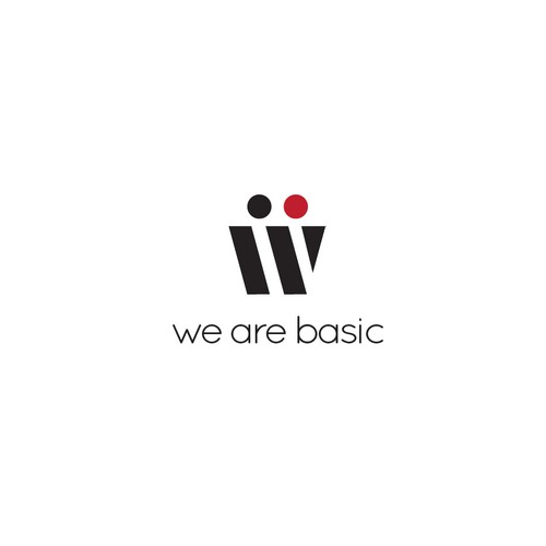 "Clean Icon for ""We Are Basic"""