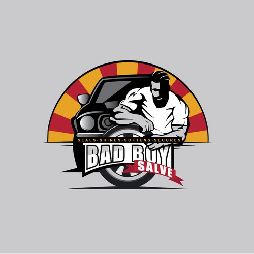 Bad Boy Salve logo design