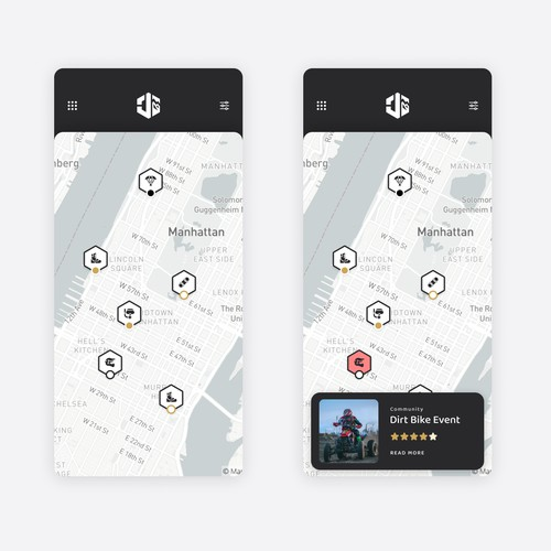 Map Search App