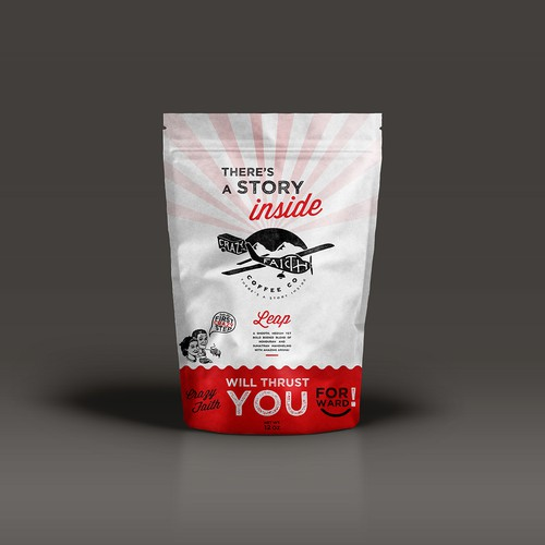 Coffee bag packaging
