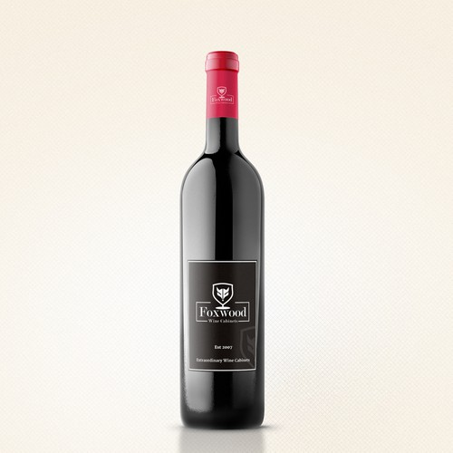 Wine Label Design for Wine Cabiners