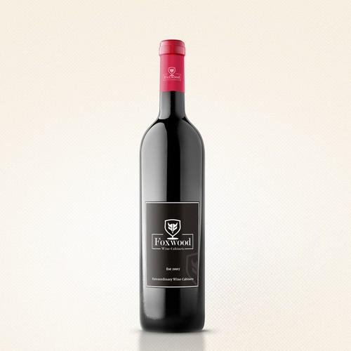 Wine Label Design for Wine Cabiners