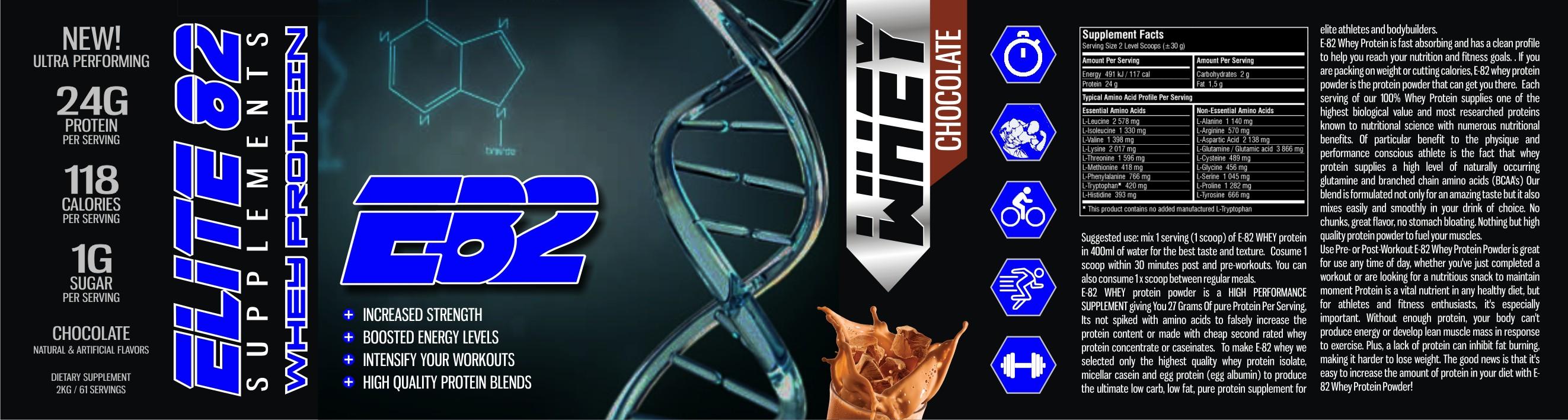 elite-82 protein label