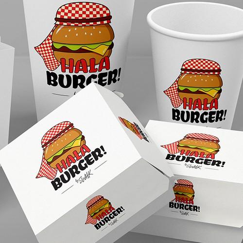 Hala Burger Logo