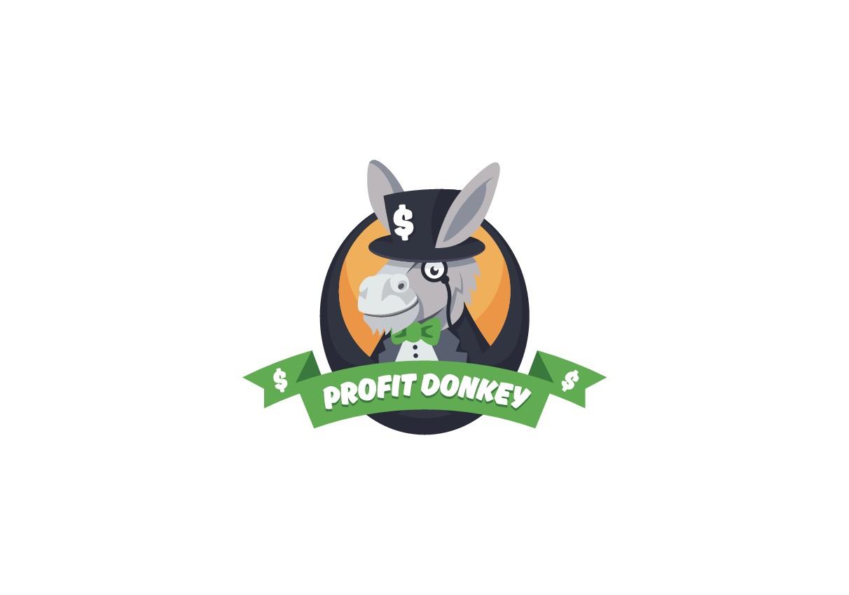 ProfitDonkey logo design
