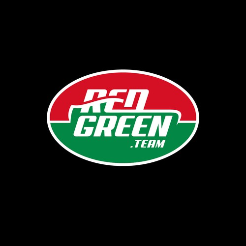 Logo concept for Red Green Racing Team
