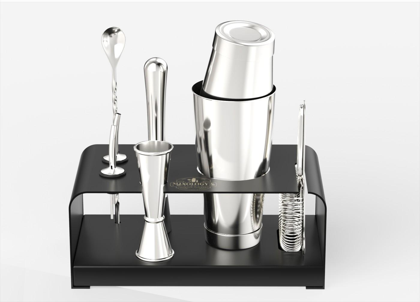 3D Rendering for Premium Barware Company