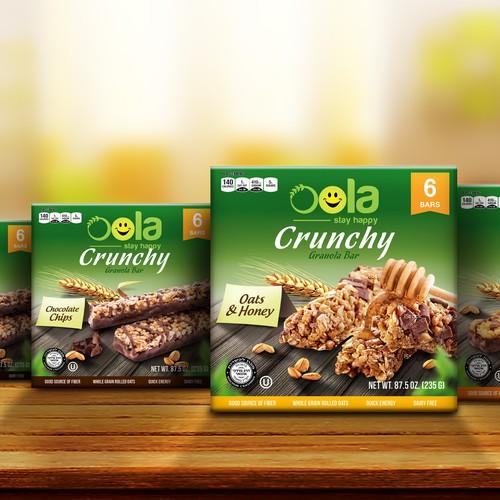 Oola Crunchy Granola Bar