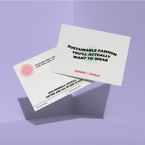 Postcard Packaging Discount
