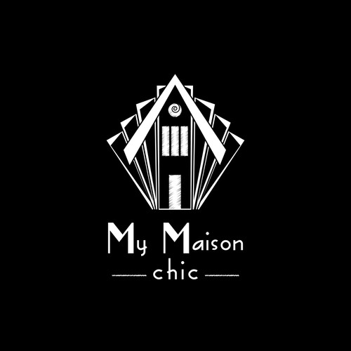 logo concept for chalk painting store