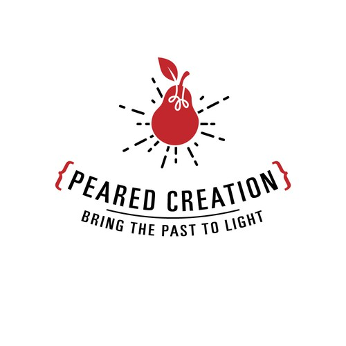 logo for a company that designs steampunk-like lights.