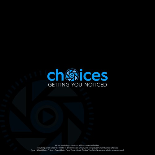 choices logo design.