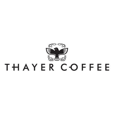 Create an elegant, memorable yet simple logo for Thayer Coffee