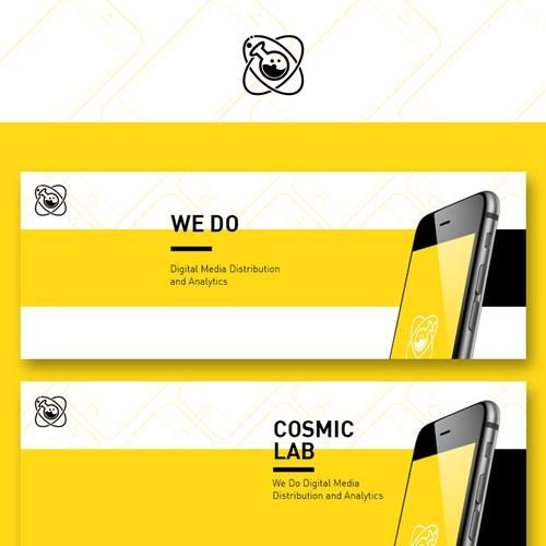 Cosmic Lab Facebook Banner广告