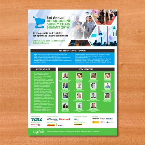 Brochure for 3rd Annual Retail Online