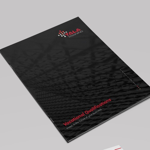 Eye catching, corporate brochure for a Construction Health & Safety Company
