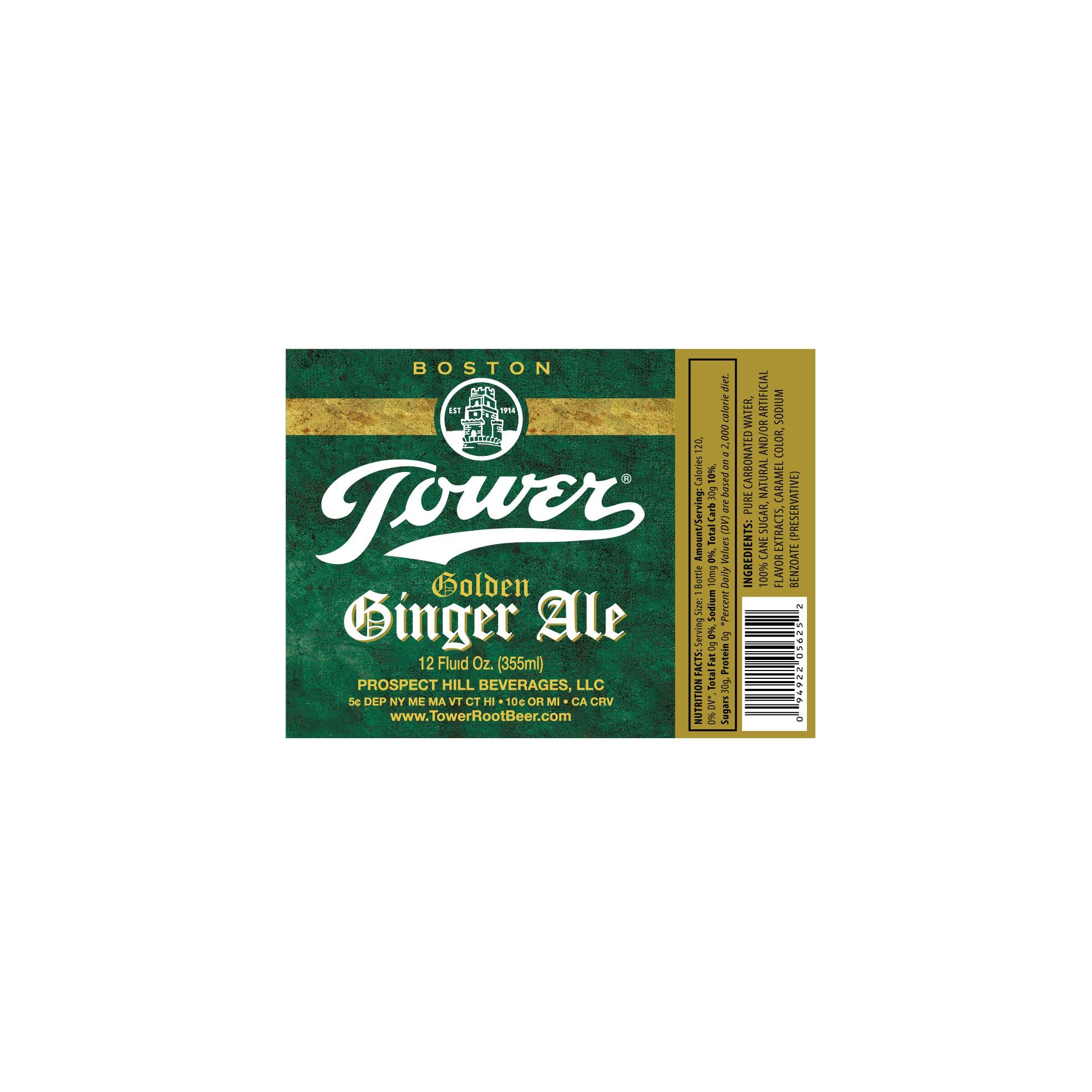 Label Upgrade Golden Ginger Ale