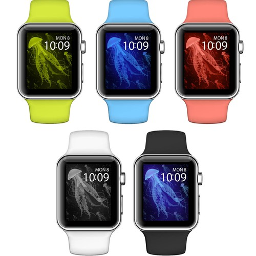 Wallpaper design for Apple Watch