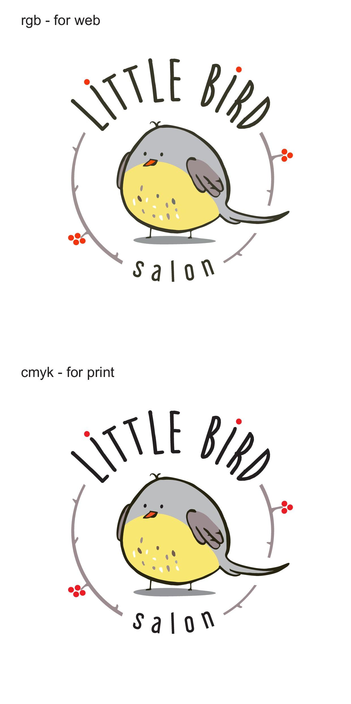Design a cute logo for a new natural hair salon