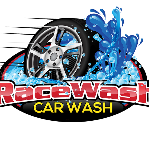 Create the next logo for RaceWash Car Wash