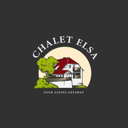 Logo design for Chalet Elsa