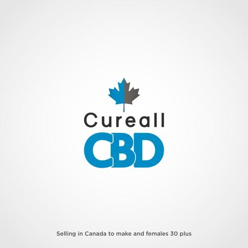 Logo for a Canadian CBD Company